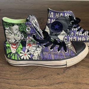 Converse Batman Joker Ha Ha Ha High Top Sneakers
